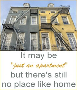 Even if your home is an apartment, it is home. It is your personal, private sanctuary. Your place to get away from the world. Here's to apartment love.