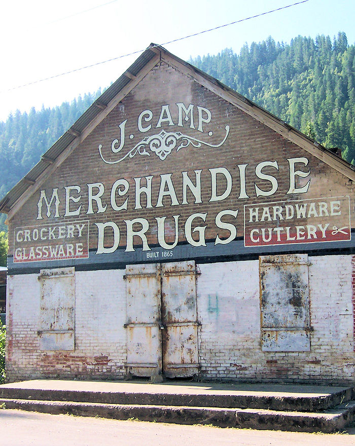 Camp Mercantile - Happy Camp, CA ... links to Happy Camp based fiction.