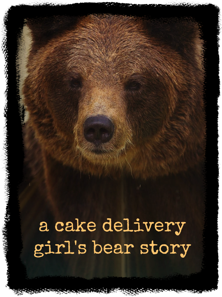 Links to a flash fiction short story: A Cake Delivery Girl's Bear Story by Linda Jo Martin.