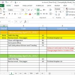 A To-Do List on a Spreadsheet