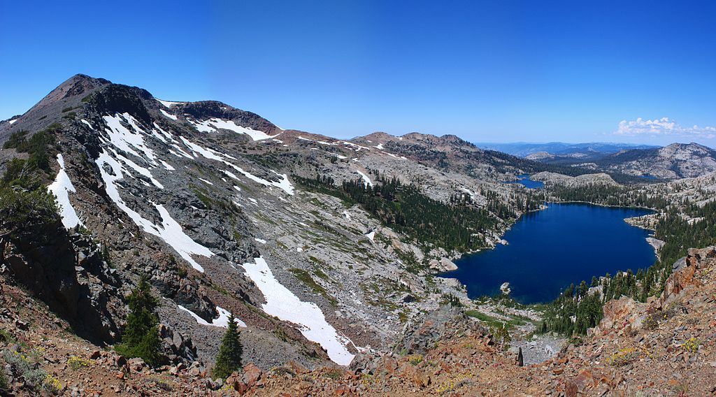 The Desolation Wilderness in California, just west of Lake Tahoe, is a beautiful place for backpacking. Photo by Joe Parks of Berkeley, CA. CC by 2.0 license.