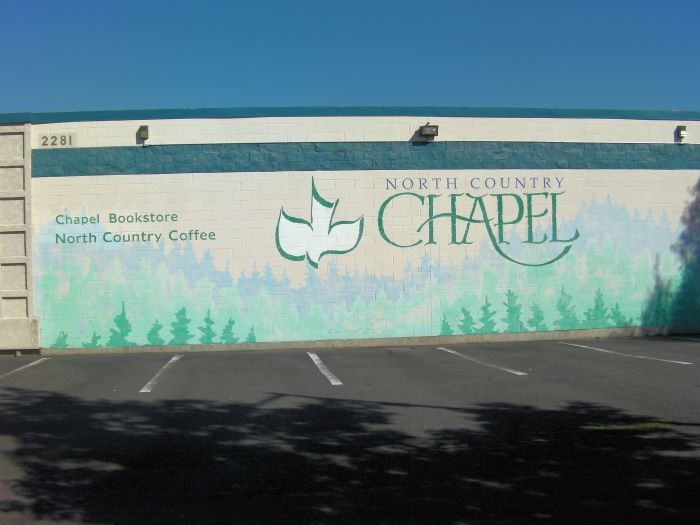 North Country Chapel Sign