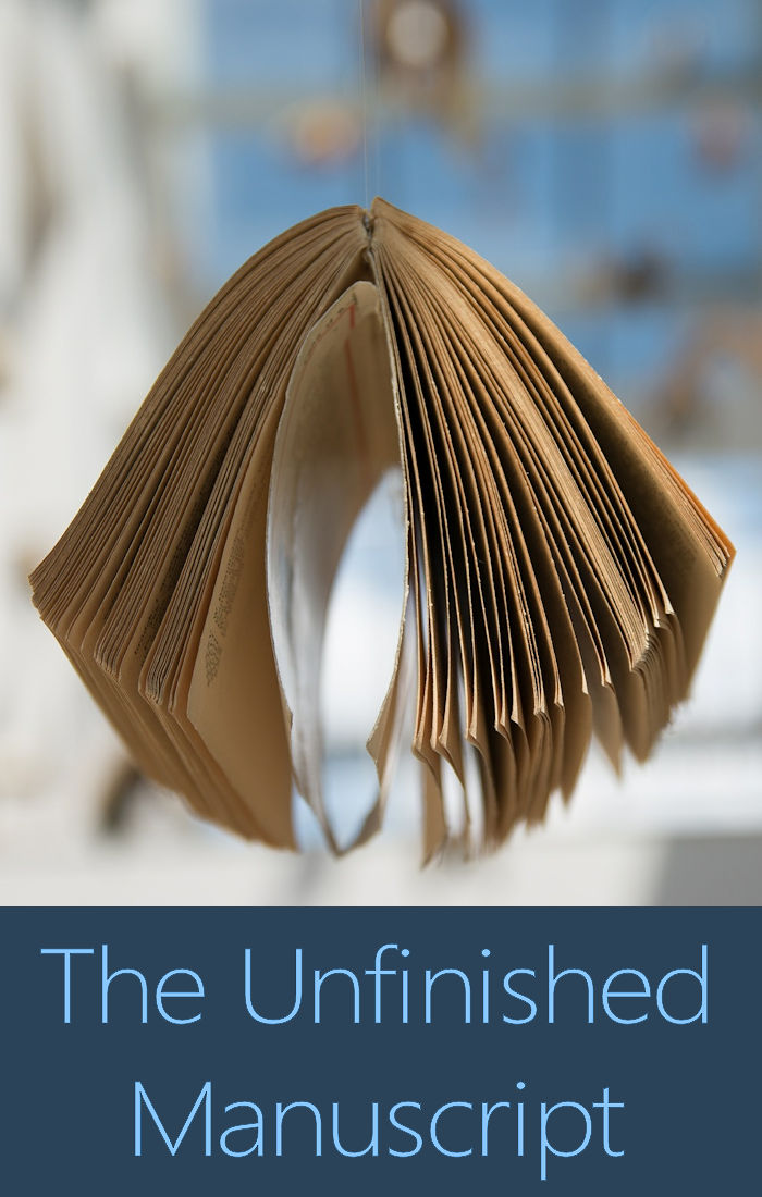 How to finish your unfinished manuscript.