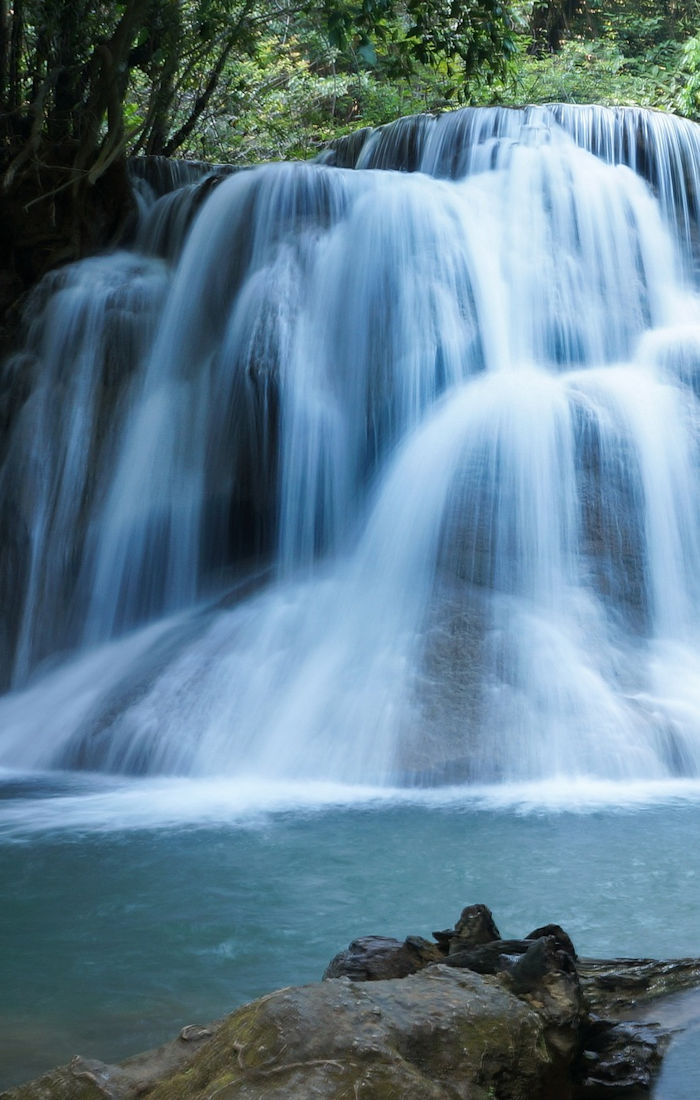 Huay Mae Khamin Waterfall, Kanchanaburi, Western Region