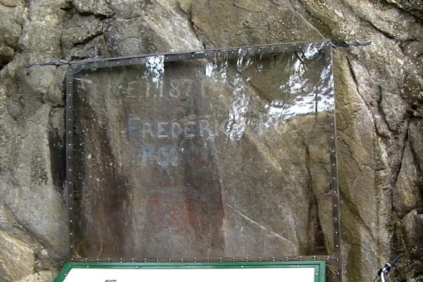 Treaty Rock at Post Falls, Idaho
