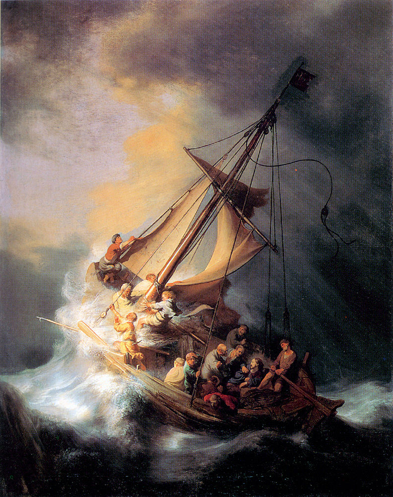 The Storm on the Sea of Galilee, by Rembrandt van Rijn