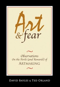Art & Fear, by David Bayles and Ted Orland - a classic book of art philosophy...
