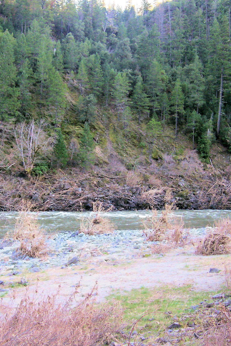 The Klamath River at Wingate