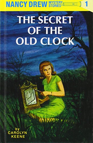 The first book in the Nancy Drew series: The Secret of the Old Clock.