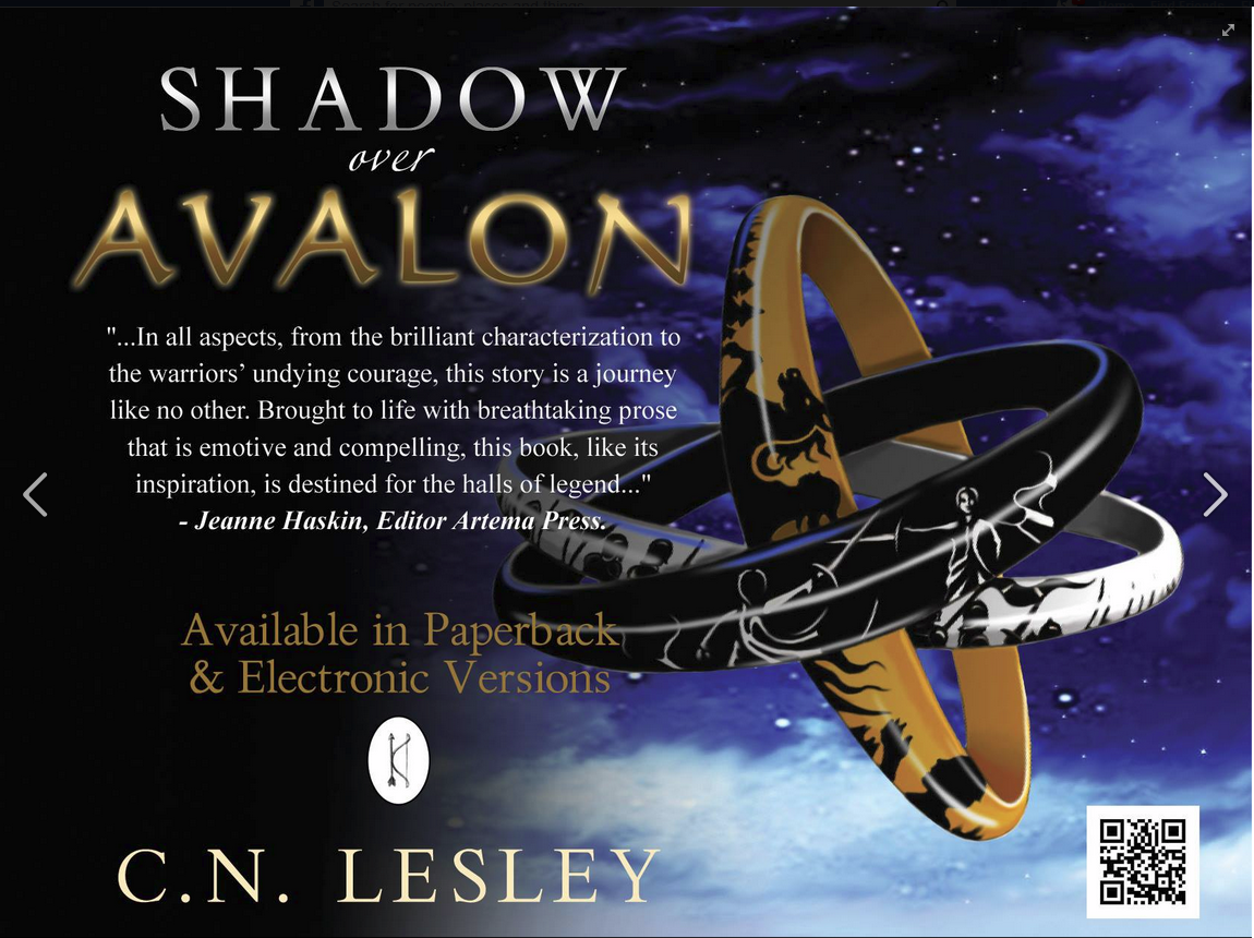 Shadow Over Avalon by C.N. Lesley is an action-packed sci-fi fantasy about a future Earth-based civilization.