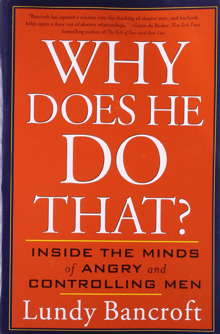 About abusive men - Why Does He Do That by Lundy Bancroft - Inside the minds of angry and controlling men ...