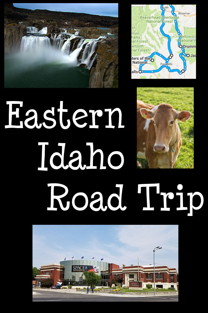 Eastern Idaho Road Trip 2019 / Photos from Wikipedia - click through for photo attribution.