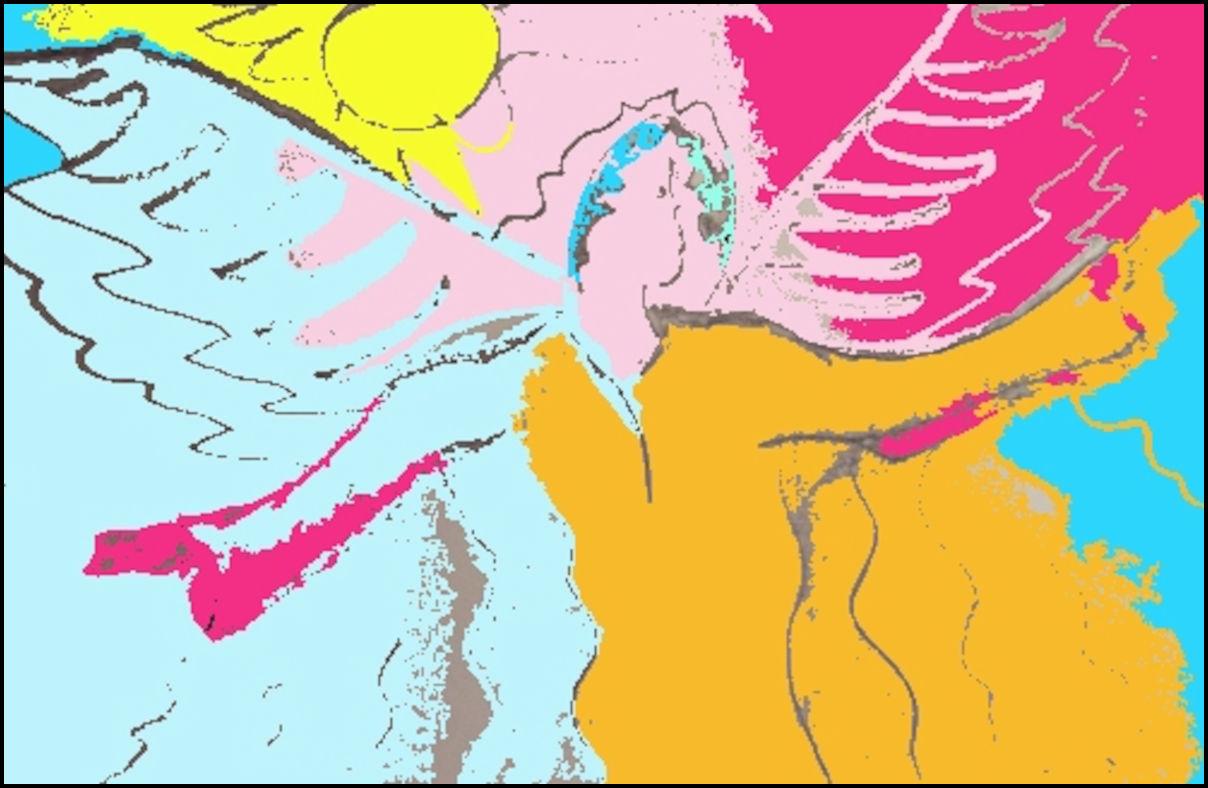 Angel art by Linda Jo Martin