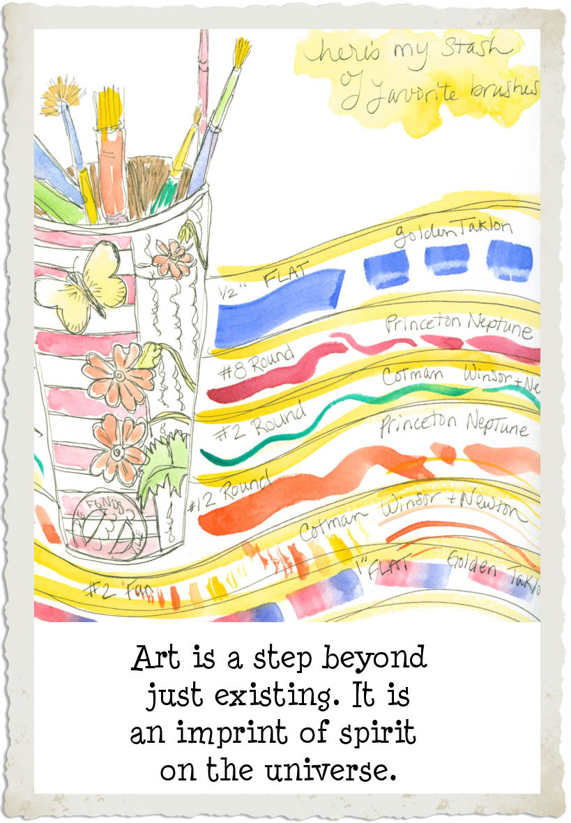 Art - a step beyond... painting by Linda Jo Martin