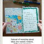 Art journal by Linda Jo Martin